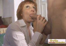 Mature French slut fucked nice and hard in all possible positions